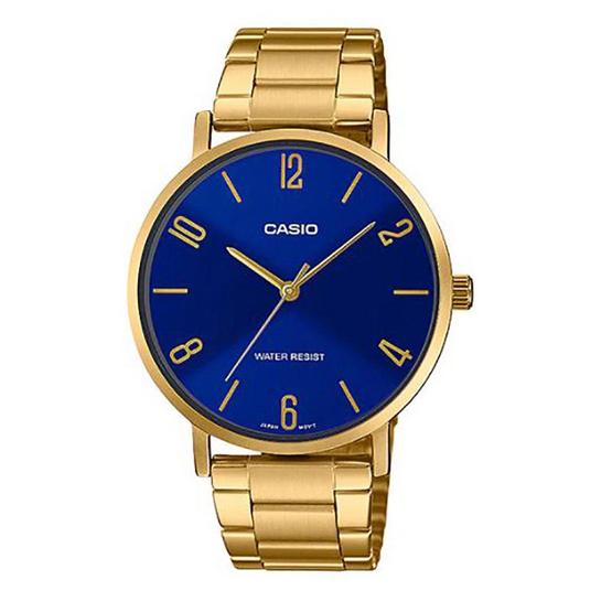 Casio นาฬิกาข้อมือ รุ่น MTP-VT01G-2B2