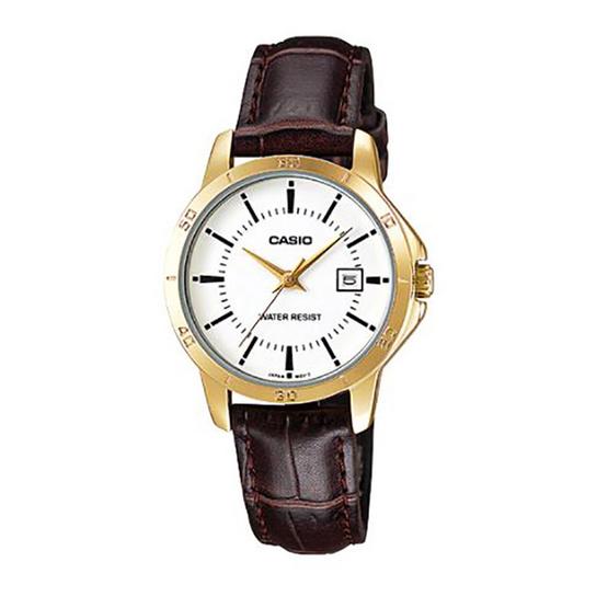 Casio นาฬิกาข้อมือ รุ่น LTP-V004GL-7A