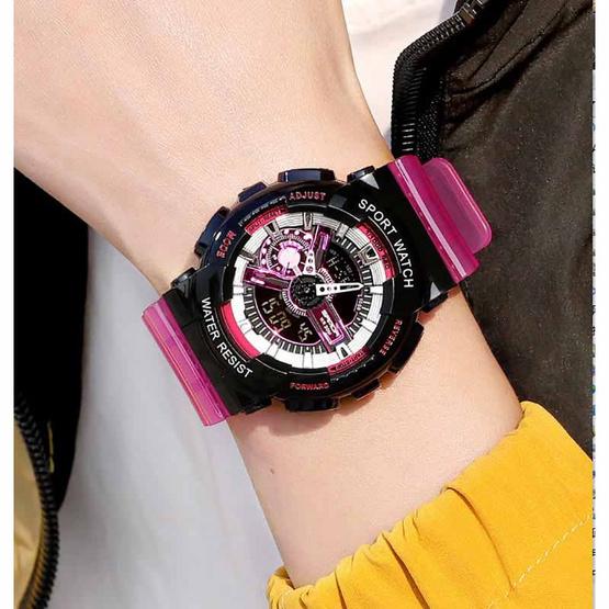 SANDA นาฬิกาข้อมือ รุ่น SW299-PU/BK