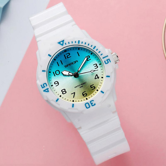 SANDA นาฬิกาข้อมือ รุ่น SW6011-WH/BL