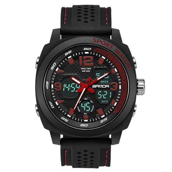 SANDA นาฬิกาข้อมือ รุ่น SW790-BK/RE