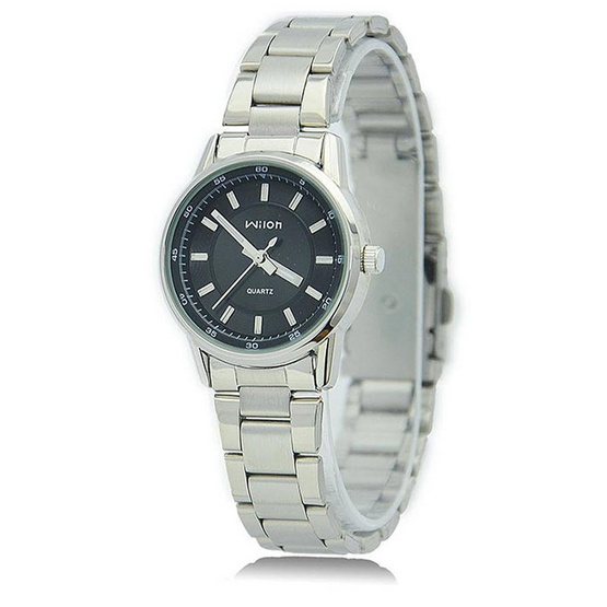 WILON นาฬิกาข้อมือ รุ่น WL1308-SI/BK