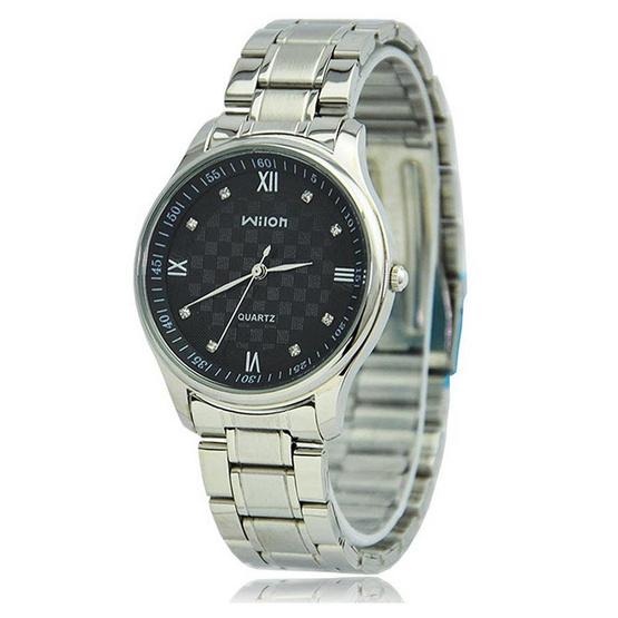 WILON นาฬิกาข้อมือ รุ่น WL1073-SI/BK