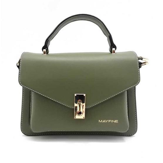 Mayfine กระเป๋าถือ สีเขียว