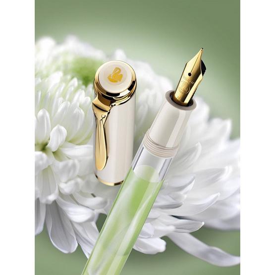 Pelikan ปากกาหมึกซึม Classic M200 Pastel Green (EF)