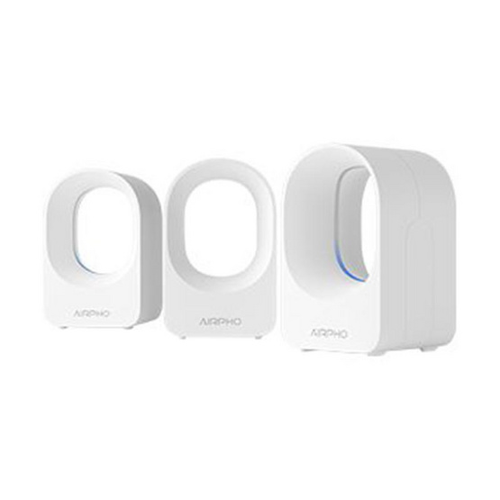 AIRPHO รุ่น AR-M400 AC1200 Dual Band Whole Home Mesh Wi-Fi System