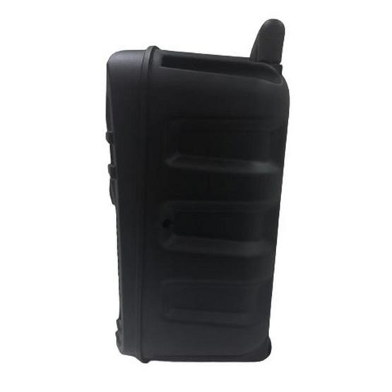 AJ ลำโพงกระเป๋าล้อลาก 8 นิ้ว รุ่น AJ-97 มาพร้อมรีโมทคอนโทรล (แถมฟรี ไมโครโฟนมีสาย )