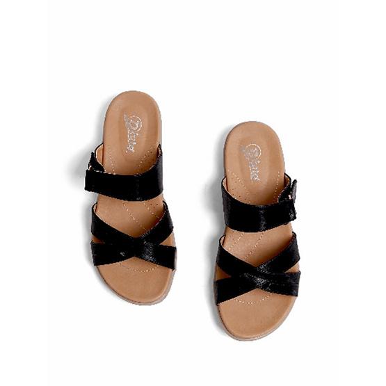D'ARTE รองเท้า FLAT SANDALS D56-20340-BLK