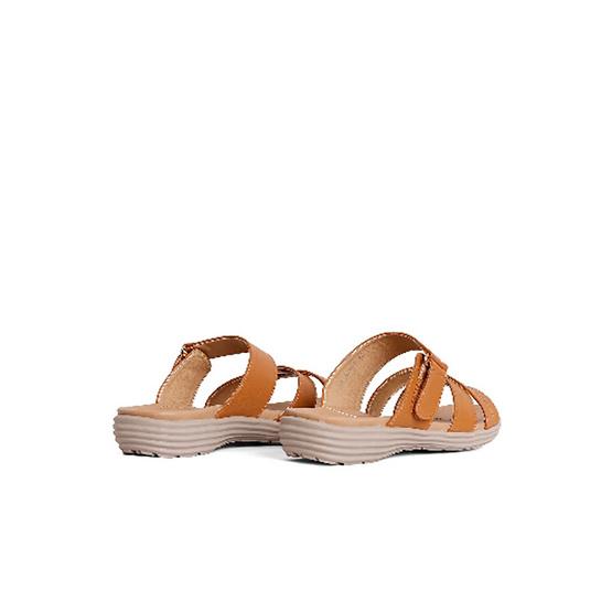 D'ARTE รองเท้า FLAT SANDALS D56-20340-TAN