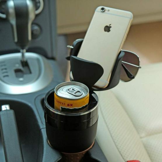 Tinafam ที่วางแก้วเครื่องดื่มในรถยนต์แบบพกพา