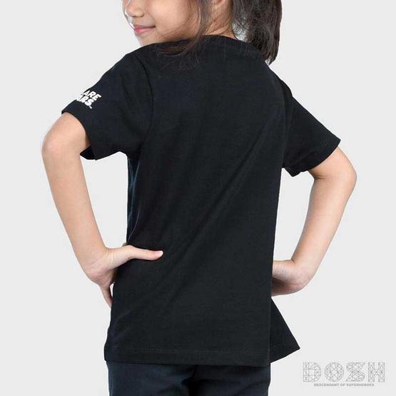 DOSH เสื้อยืดคอกลมแขนสั้น เด็ก Unisex ลาย We Bare Bears สีดำ FBBBT5001-BL