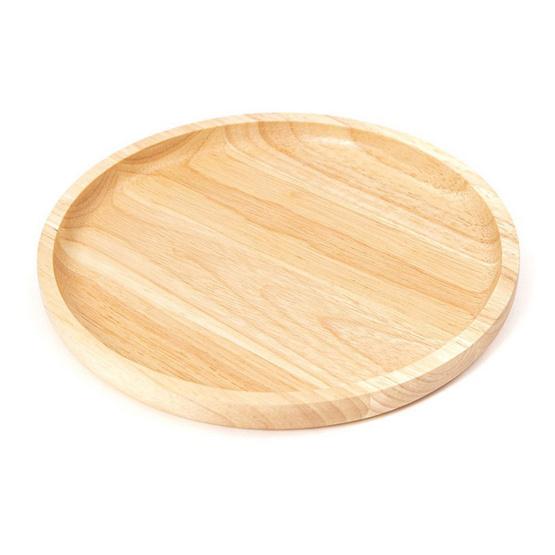 The Wood's Tale จานไม้ ถาดไม้ CIRCLE PLATE