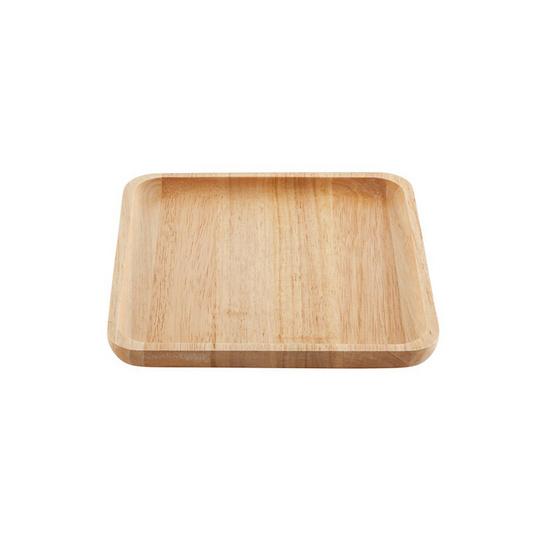The Wood's Tale จานไม้ ถาดไม้ ทรงสี่เหลี่ยมจตุรัส