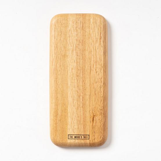 The Wood's Tale จานไม้ ถาดไม้ ทรงสี่เหลี่ยมผืนผ้ายาว