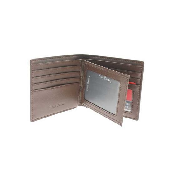 Pierre Cardin กระเป๋าธนบัตร+พวงกุญแจ รุ่น GWK20-01 BN