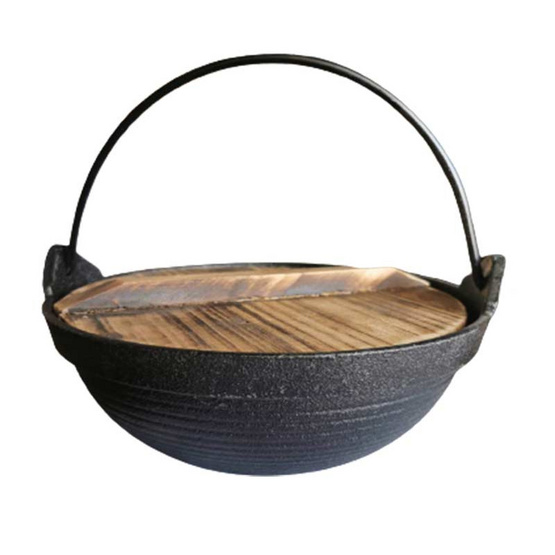 BeChef หม้อสุกี้ ชาบูญี่ปุ่นพร้อมฝาไม้ ขนาด 20 ซม.
