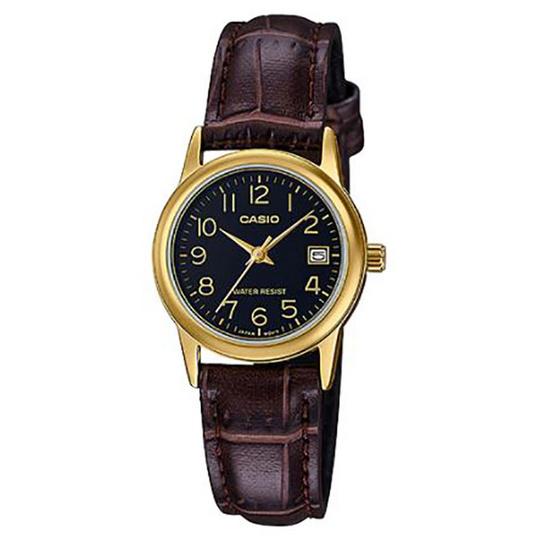 Casio นาฬิกาข้อมือ รุ่น LTP-V002GL-1B