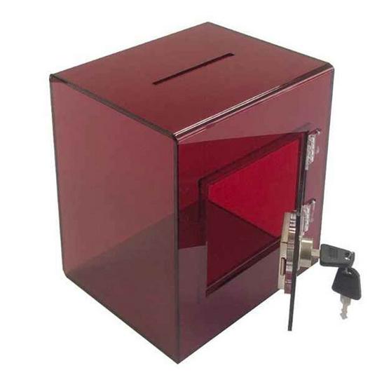 Forcharmy กล่องใส่ทิป สีแดง