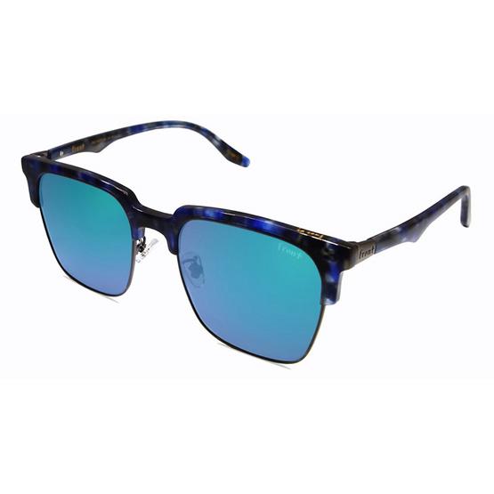 Front แว่นกันแดด รุ่น La Song รหัสสี SV36 สีกรอบ Blue Marble สีเลนส์ Blue Mirror