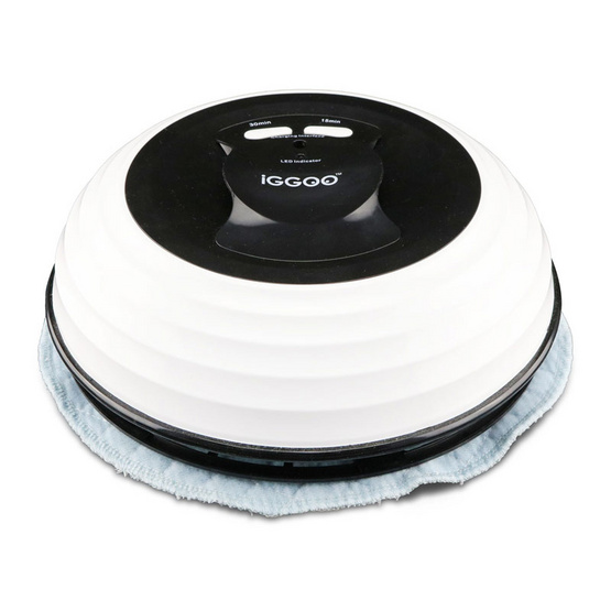 หุ่นยนต์ถูพื้น iGGOO รุ่น Sweep สีขาว