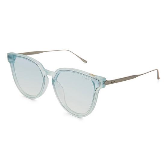 Front แว่นกันแดด รุ่น Slide รหัสสี SV31 สีกรอบ Blue สีเลนส์ Fading Transparent Blue