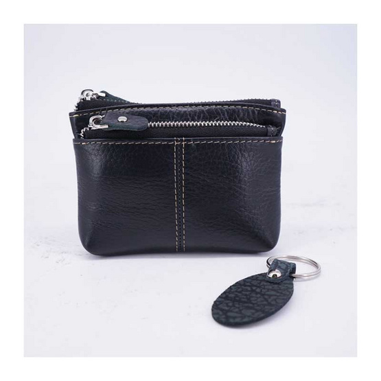 NINZA กระเป๋าใส่ธนบัตร เหรียญอเนกประสงค์ M ดำ