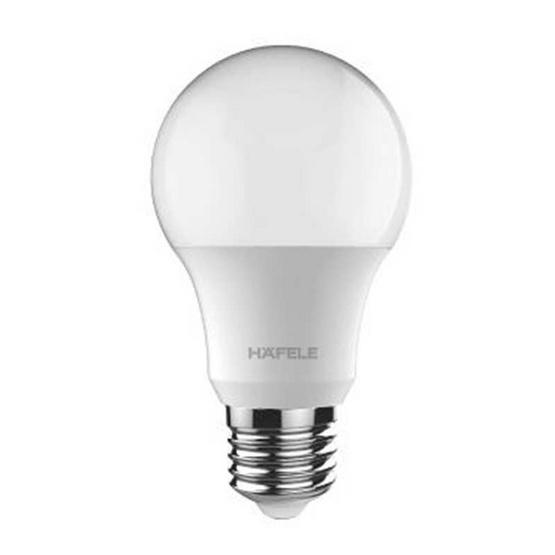 Hafele หลอดไฟ LED รุ่น A60 - 9w Daylight