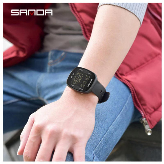 SANDA นาฬิกาข้อมือ รุ่น SW2005-BK/BK