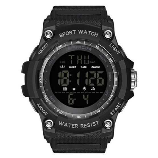 SANDA นาฬิกาข้อมือ รุ่น SW2016-BK/BK