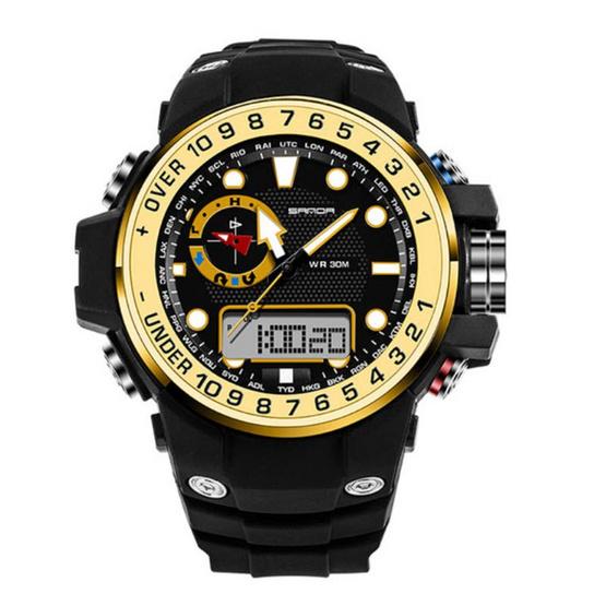 SANDA นาฬิกาข้อมือ รุ่น S339-BK/GO