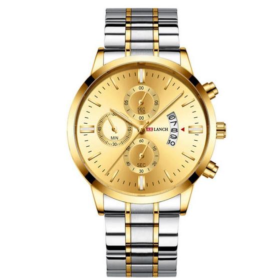 ARLANCH นาฬิกาข้อมือ รุ่น AL303-SI/GO