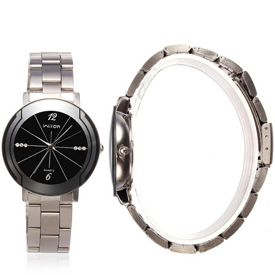 WILON นาฬิกาข้อมือ รุ่น WL2707-SI/BK