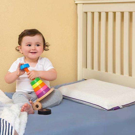 Clevamama หมอน ClevaFoam Toddler Pillow สำหรับเด็กอายุ 1 ปีขึ้นไป