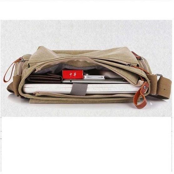 OSAKA รุ่น NB706 -สีน้ำตาลเข้ม กระเป๋าสะพายไหล่