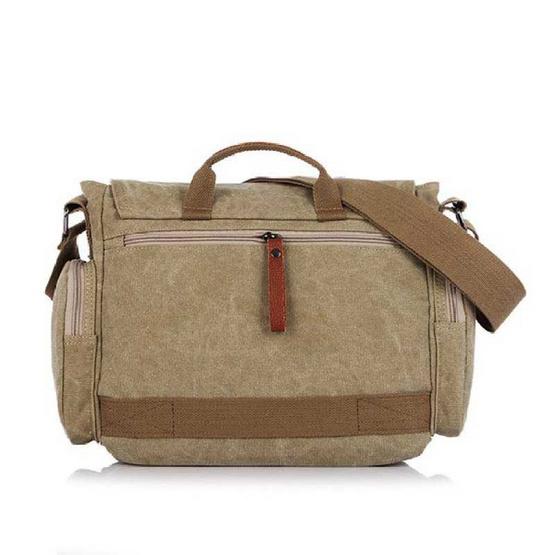OSAKA รุ่น NB706 -สีน้ำตาลอ่อน กระเป๋าสะพายไหล่