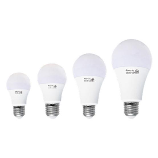 RANDY หลอด LED Bulb 15 วัตต์ (แสงเหลือง) 3แถม1