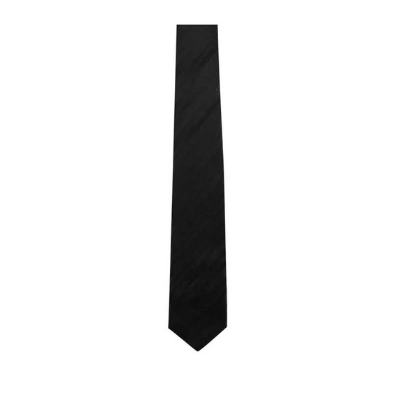 DAPPER 7 cm Black Plain Tie
