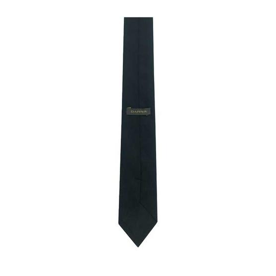 DAPPER 6.5 cm Black Jacquard Tie
