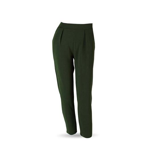 Pachara กางเกงขายาวผู้หญิง ทรงบอลลูน Free Size (คละสี) 10 ชิ้น