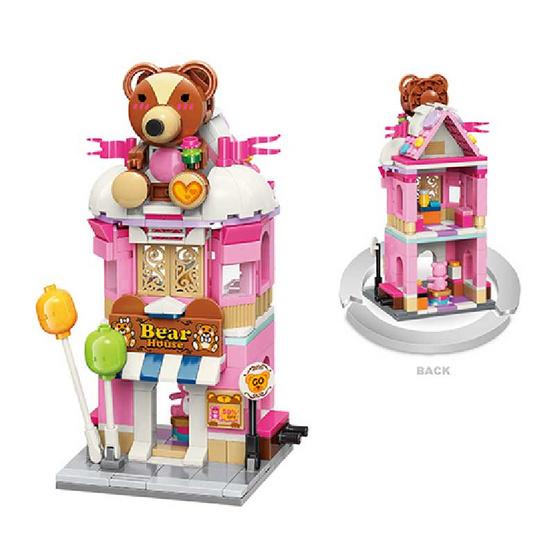 TM QMAN ตัวต่อร้านหมี TEDDY (TMQM C0109)