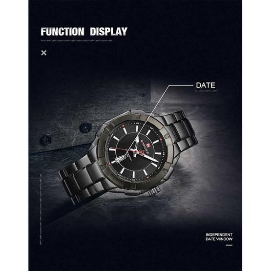 Naviforce นาฬิกา รุ่น NF9176M-BK