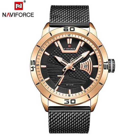 Naviforce นาฬิกา รุ่น NF9155M-RG BK