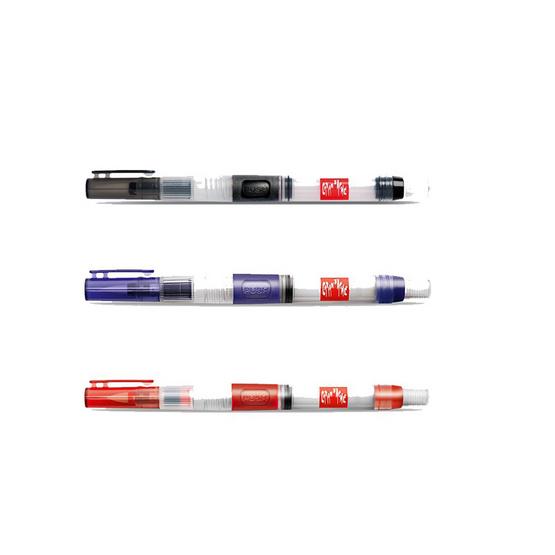 Caran D'Ache ชุดปากกาพู่กัน Size L,M,F #115.303