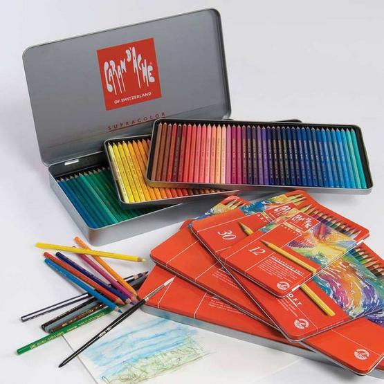 Caran D'Ache ดินสอสีระบายน้ำ Supracolor 120 สี 3888.420