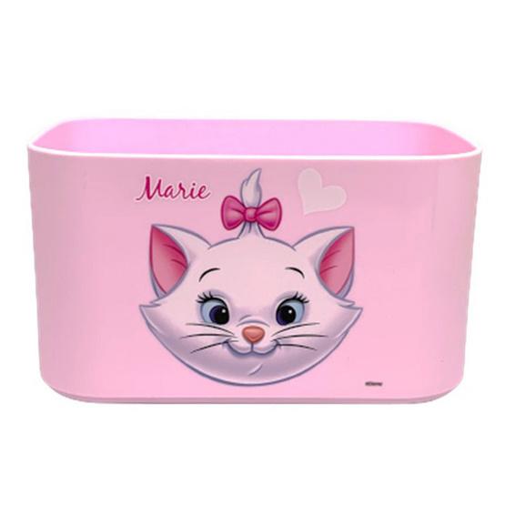 Disney กล่องเหลี่ยมเล็กมีช่องจับ แมวมารี 210