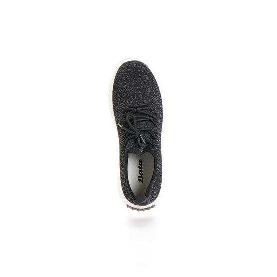 Bata รองเท้าลำลองชายแบบสวม สีดำ - 8296175