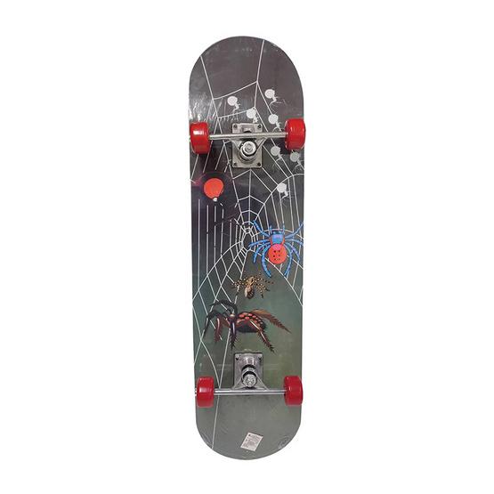 สเก็ตบอร์ด Skate board ลาย Spider