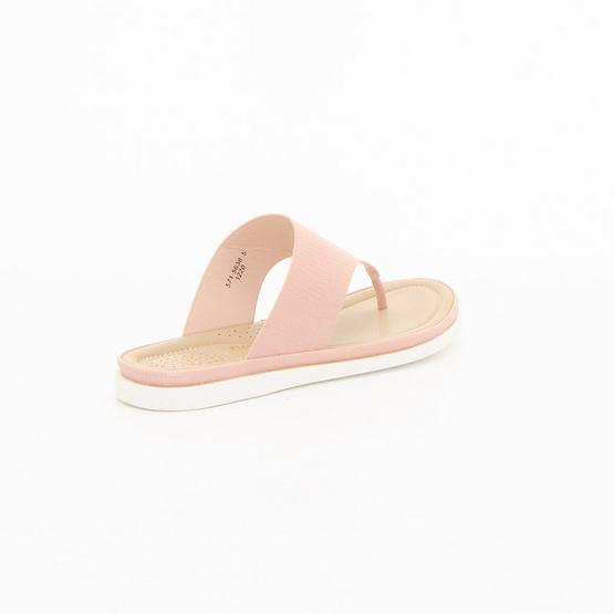 BATA (5715638) รองเท้าเพื่อสุขภาพแบบคีปโป้ง (หนีบ) สีชมพู