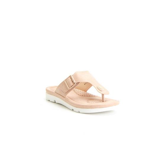 Bata รองเท้าเพื่อสุขภาพแบบคีปโป้ง (หนีบ) สีชมพู - 6715188