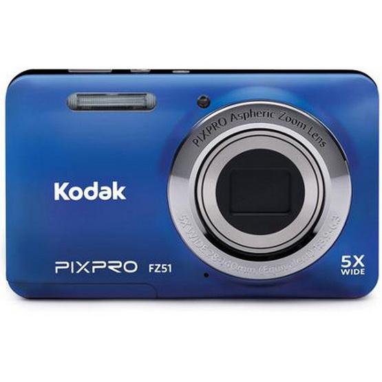 KODAK กล้องดิจิตอล Pixpro FZ52 Blue Free SD 8GB + Bag มูลค่า 490 บาท